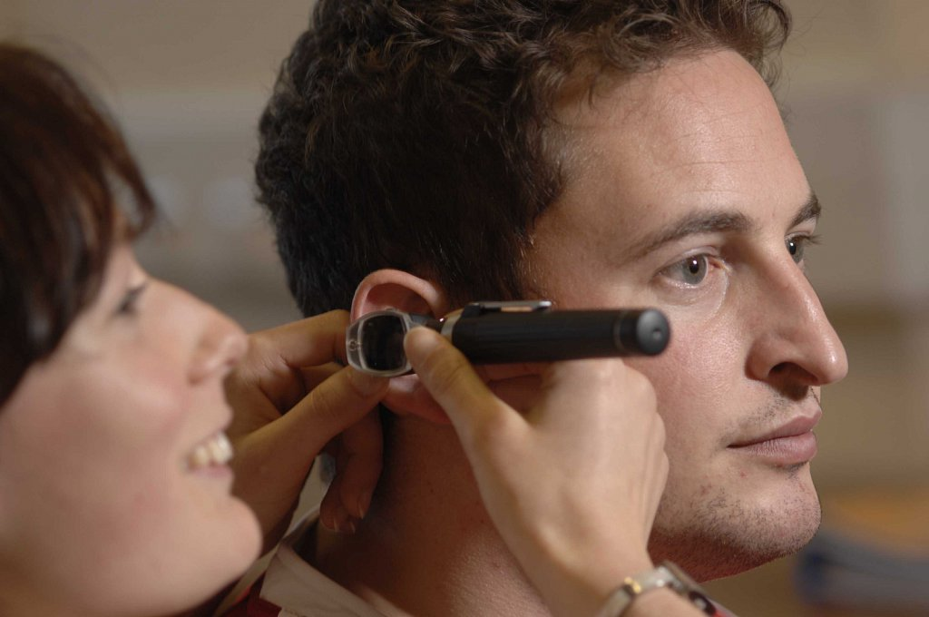 Audiometry & Optometry Students at the College of West Anglia