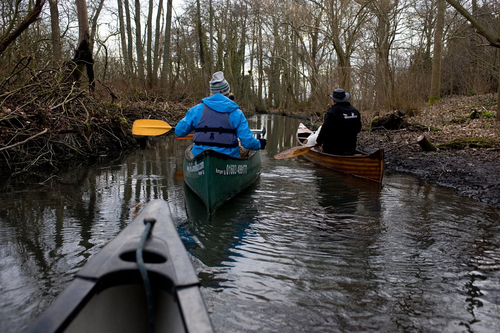 Canoeing on the Norfolk Broads