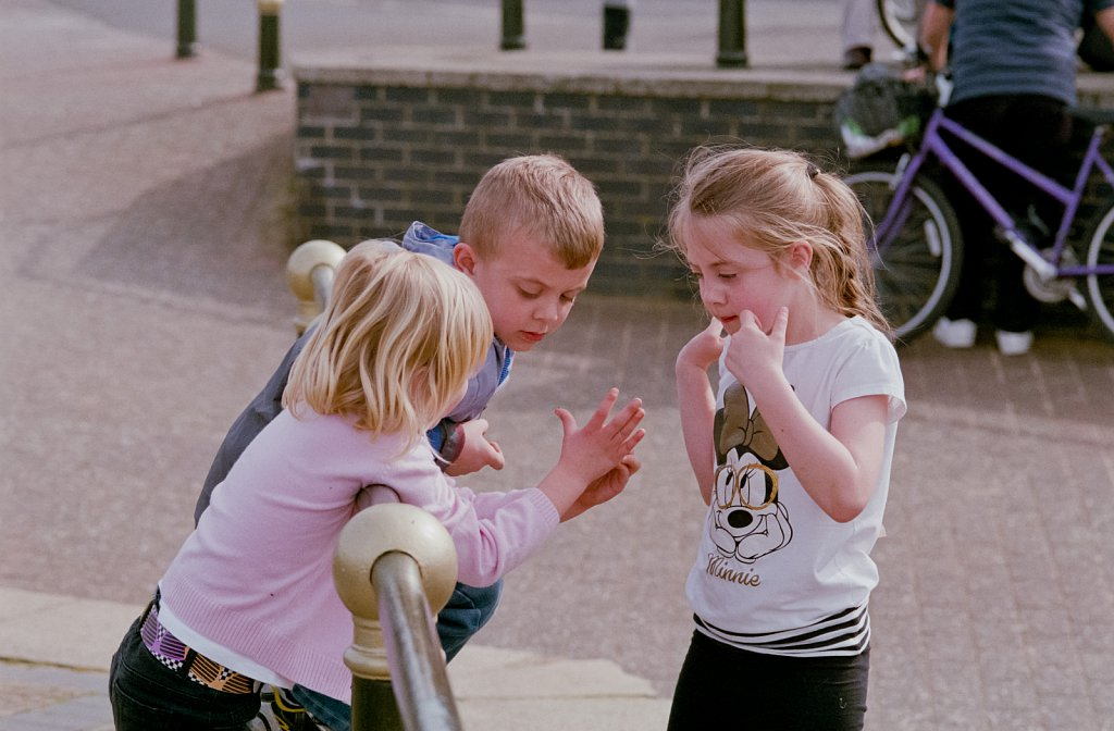 Children Playing In The Street