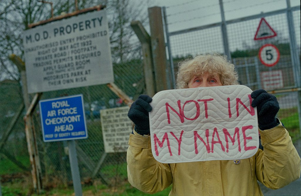Coningsby Anti Drone Protest