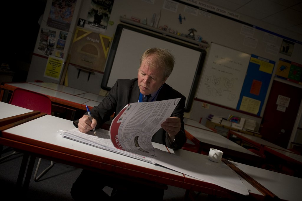 Jeremy Rowe of Sir John Leman High Scool in Beccles, Suffolk.