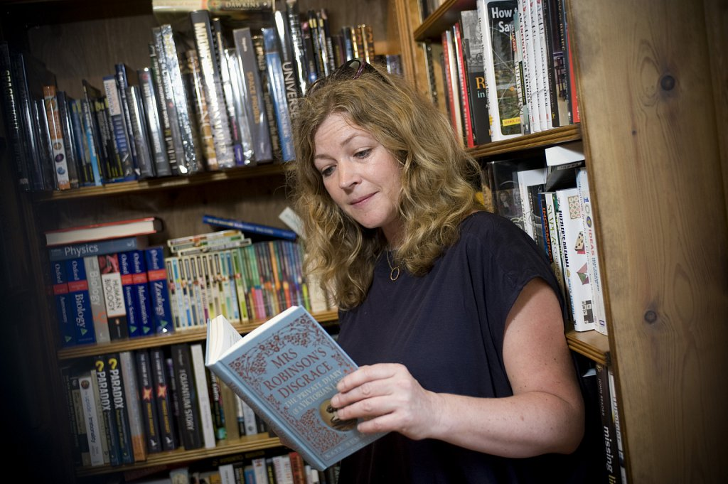 Kate Summerscale, author