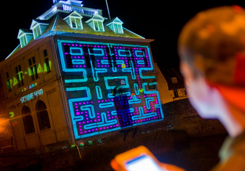 World's Largest PacMan Game