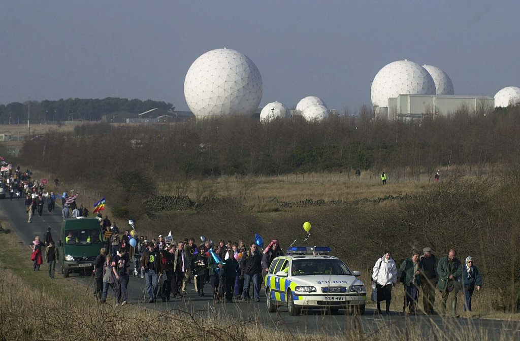 Menwith Hill Protests 2003