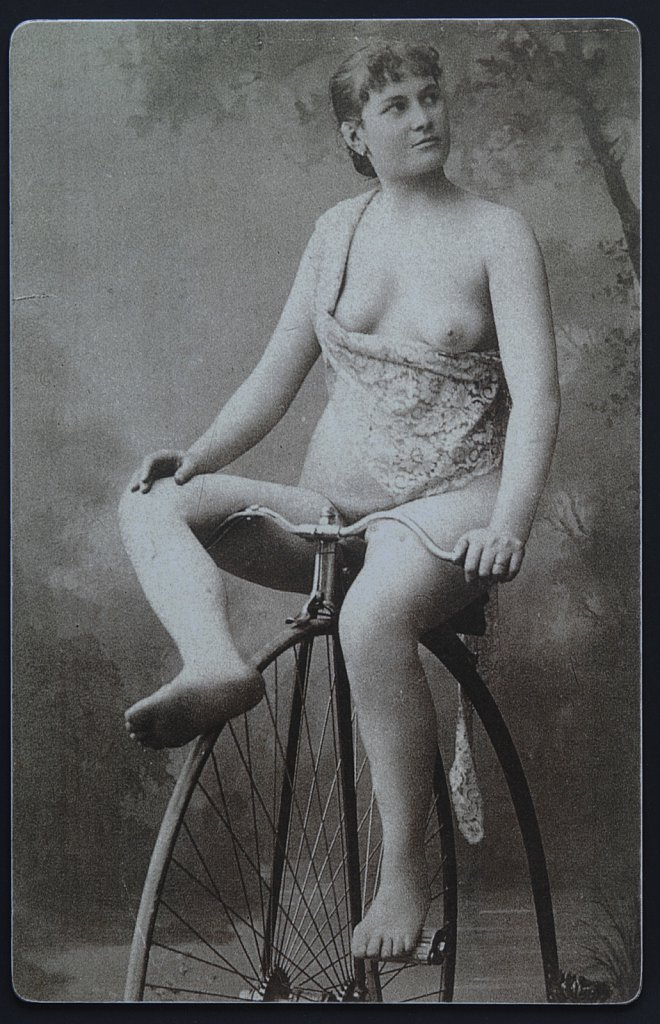 Velorotic - exhibition of cycling erotica