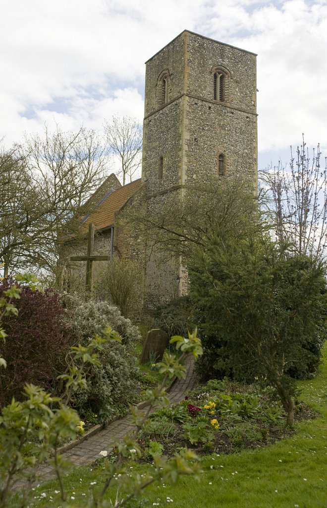 Houghton on the Hill, St Mary's Church restoration