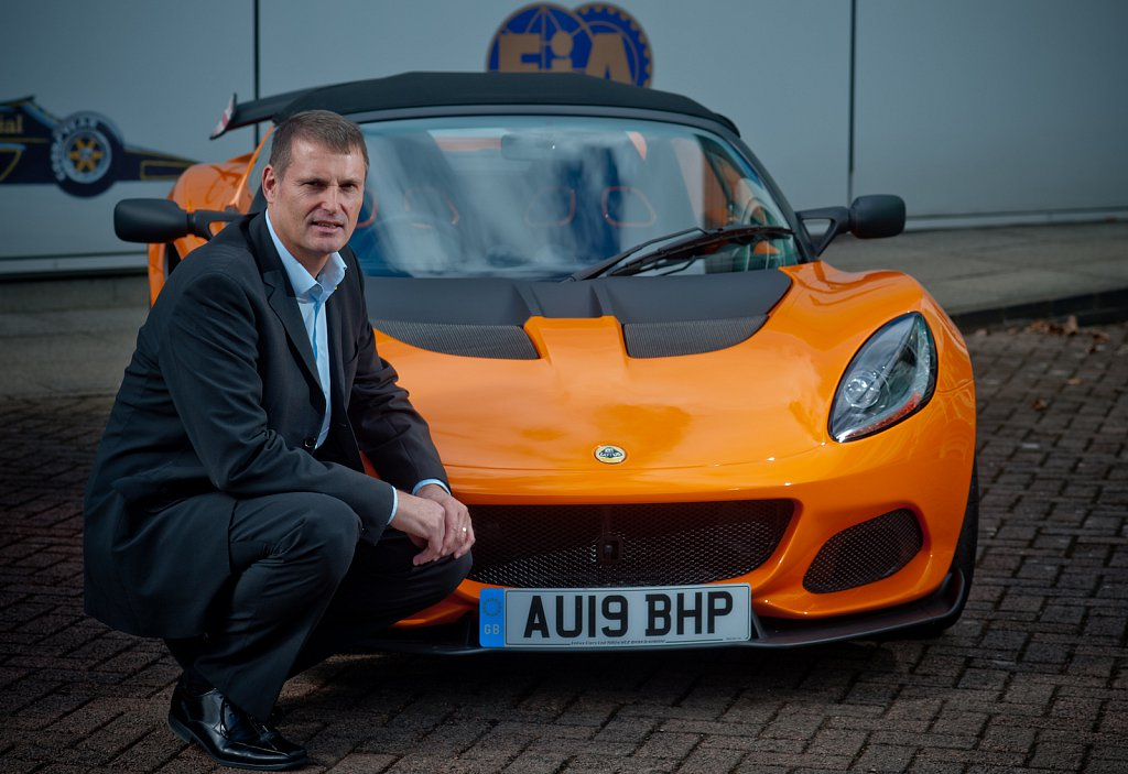 Phil Popham  chief executive officer of Lotus Cars.